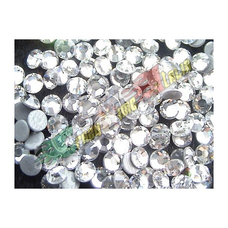 1 GROSSE (144PZ) STRASS KOREANI CLEAR 10SS