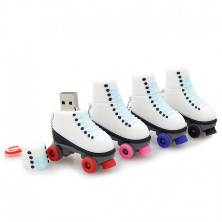 CHIAVETTA USB 16GB A FORMA DI PATTINO