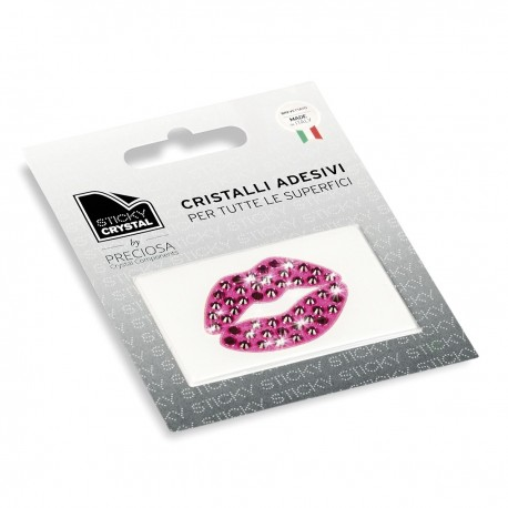 STICKY CRYSTAL COLLECTION ARTDESIGN BOCCA FUCSIA