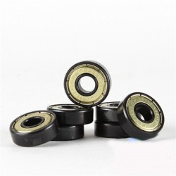 SEBA - SET CUSCINETTI FREESTYLE ABEC 9 BLACK/GOLD