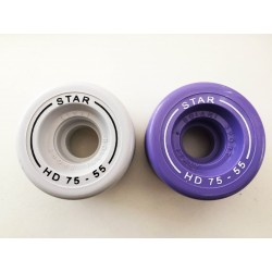 STAR - SET RUOTE HD75 DIAM.55