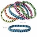 Elastico-braccialetto Colori Pastello Fantasia